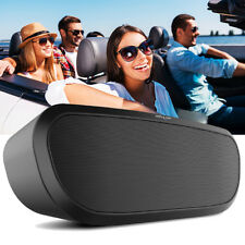 Stereo Bluetooth Wireless Speaker with SD Card slot Bass for iOS Android Outdoor