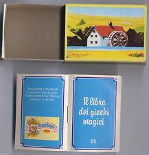 Mulino Bianco Sorpresine - Il libro dei giochi magici 4 - 1983 - completa nuova