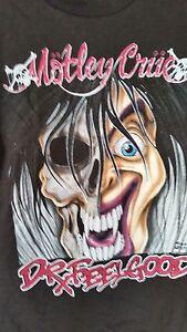 MOTLEY CRUE Dr. Feelgood 1990 vintage licensed concert tour shirt Large NEW Rare
