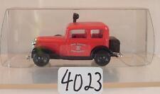 Brekina 1/87 Nr. 1123 Opel P4 Feuerwehr Friedrichshafen #4023