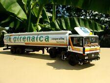 PEGASO 1231 T Camion Semi Remorque Citerne LA PIRENAICA 1/43 Neuf en Boite n° 87