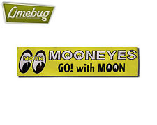 Mooneyes Garage Banner Yellow Workshop Vinyl Hotrod VW Camper Beetle Hotrod Bug