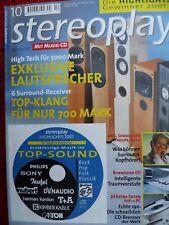 STEREOPLAY 10/01, PIEGA c40,BURMESTER 011,PAQSS XONO,AKG HEARO,SENNHEISER HDR 65