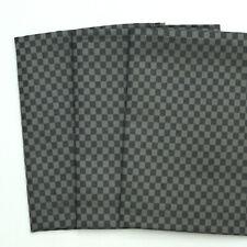 3 Leinen Geschirrtücher Küchentücher Cubus 55 cm x 75 cm schwarz DRIESSEN LEINEN