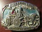 1988 Firefighters American Heroes Belt Buckle - The Great American Buckle Co.