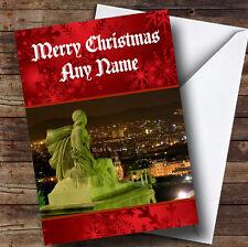 Barcelona España Personalizado Navidad tarjeta de saludos
