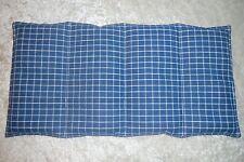 1 Körnerkissen Rapskissen blau 40x20cm Kühlkissen Wärmekissen Entspannungskissen