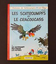 ALBUM BD EO LES SCHTROUMPFS ET LE CRACOUCASS DUPUIS 1969 QUASI NEUF