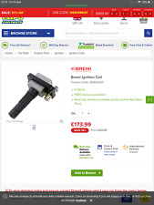 Bremi ignition coil 20399 various suburu 413800030