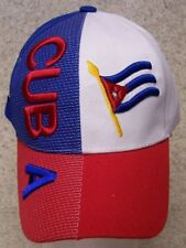 Embroidered Baseball Cap International Cuba NEW 1 hat size fits all