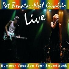 Pat Benatar/Neil Giraldo-Live-Summer Vacation Tour COLONNA SONORA-CD NUOVO
