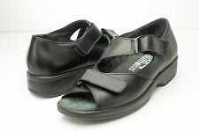 Foot Solutions 6.5 7 Black Orthotic Sandals Women's Shoes