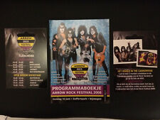 KISS Tourbook Program Motorhead Def Leppard Twisted Sister Whitesnake. Rare New!