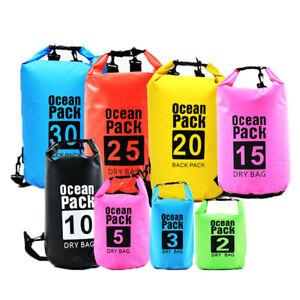 Dry Sack Waterproof Festival Phone 2-70 litre HEAVY DUTY Beach Kayak Sail Surf