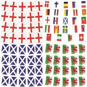 ENGLAND BUNTING EURO 2020 21 SCOTLAND WALES NATION FLAG 10M FOOTBALL DECORATION
