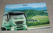 Iveco Stralis Euro 4 - Euro 5 Truck Brochure 2006