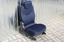 Sitz hinten links Einzelsitz SED-474 BLUE DORIA CLOTH Fiat Multipla 186 Facelift