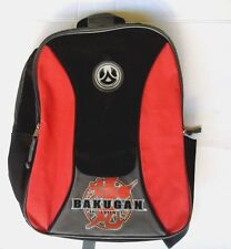 2008 Bakugan Battle Brawlers Arena Black Red Backpack