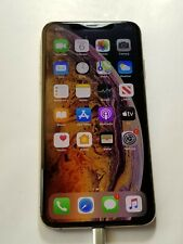 Apple iPhone Xs Max  A1921- 64GB-T-Mobile Unlocked - Gold - Tiny Nick- Jy34