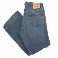 Vintage LEVI'S 559 Relaxed Straight Fit Men's Blue Jeans W31 L30