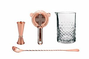 Copper Old Fashioned Bar Kit