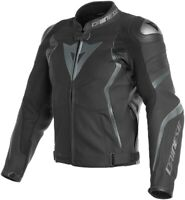 "NEW ""DAINESE"" MOTORBIKE Racing Leather Jacket With CE Armour Protection All Size"