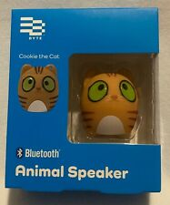 Byte - Bluetooth - Animal Speaker - Cookie The Cat - Wireless - Brand New
