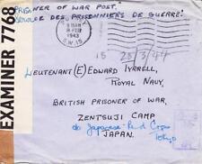 Royal Navy POW, Zentsuji, Japan, 1943, See Remark (C248)
