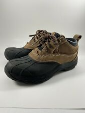 LL Bean Storm Chaser Lace Up Rain Boots Women Size 8.5
