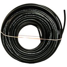 18 RG6 de doble escudo Cu Catv CM//CL2 pre-longitud de corte en Negro Coaxial Cable 250 ft