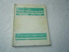 Flexi-coil Flexicoil 1000 air flow seeder operator's manual