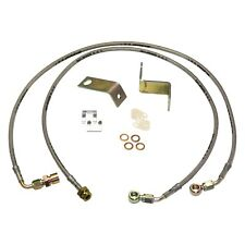 For Ford F-250 Super Duty 05-07 Skyjacker Stainless Steel Front Brake Lines