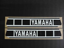 1977-1978  Yamaha YZ 400 Gas Tank Decal Set. AHRMA