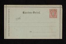 (YYAI 323) Austria 1883 postal stationery card