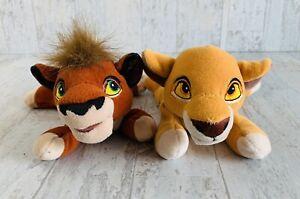 "Kovu & Kiara Vintage Walt Disney Lion King 2 Simbas Pride Plush Bean Bag 8"""