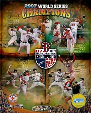 "2007 Boston Red Sox World Series Champions Composite  8"" x 10"" Photo All 4 Games"