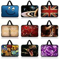 """New Sleeve Case Bag Pouch + Handle For 7"""" 8"""" inch Tablet PC Mid Android W/Cover"""