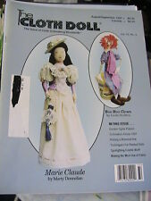 THE CLOTH DOLL Aug-Sept 1997 Vol 12 No 3 cloth art doll patterns~how magazine