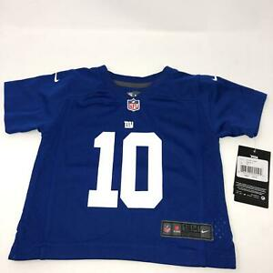 Nike Eli Manning Jersey New York Giants Blue Baby Toddler Size 18 Month