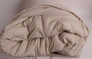 NIP Pottery Barn Sport Luxe Comforter, King or Cal King, Bone