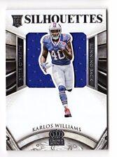 KARLOS WILLIAMS NFL 2015 CROWN ROYALE ROOKIE SILHOUETTES (BILLS,STEELERS,FSU)