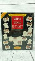 SEALED WHAT WORD IS THAT? Quiz VINTAGE 504 Jigsaw Puzzle 1995 New