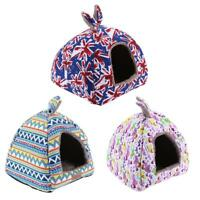 Soft Pet Dog Cat Bed House Kennel Doggy Puppy Warm Cushion Basket Pad Mat S-M
