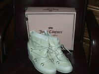 Juicy Couture Jcmareen WHITE Size 10 Boots BRAND NEW W/BOX RETAILS $89.99