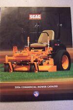 SCAG 2006 COMMERCIAL MOWER CATALOG