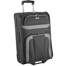 Travelite Orlando 2 Rollen Trolley Koffer Reisegepäck 73 cm (schwarz)