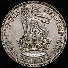 More details for 1933 | george v one shilling | silver | coins | km coins