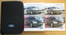 FORD Galaxy S-MAX Manuale Proprietari Manuale Wallet Navi 2015-2017 Pack 11150