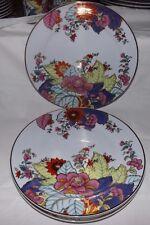 "(Set of 4) Imperial Leaf China TOBACCO LEAF 10 1/2"" DINNER PLATES"