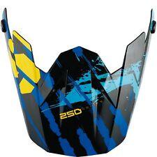 Scott Kids 250 Brigade Kinder Helm Visier blau/schwarz Einheitsgröße